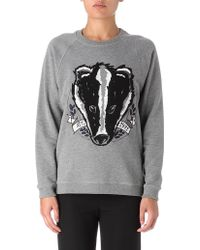 Mulberry G Badger Sweatshirt - Lyst