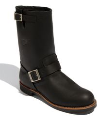 Red Wing 'Engineer' Boot - Lyst