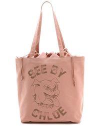 See By Chloé Medium Shopping Bag - Lyst
