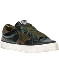 Golden Goose Deluxe Brand Leather May Trainers - Lyst