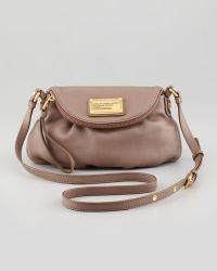 Marc By Marc Jacobs Classic Q Natasha Mini Crossbody Bag Brown - Lyst