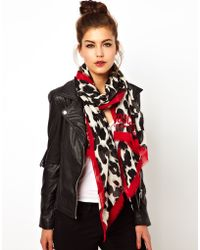 Boutique Moschino - Leopard with Red Scarf - Lyst