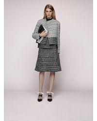 Proenza Schouler Woven Leather Jacket - Lyst