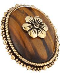 Stephen Dweck Tigers Eye Flower Ring - Lyst