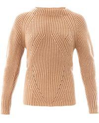 Burberry Prorsum - Sculptural Cashmere Sweater - Lyst