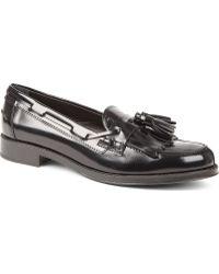 Tod's Tassel Loafers Black - Lyst