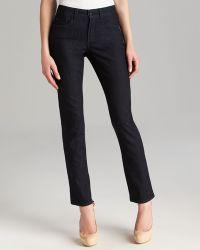 Nydj Sheri Skinny Jeans In Dark Enzyme - Lyst