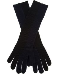Acne Studios - Lucida Merino Ribbed Gloves - Lyst