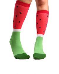 AKIRA - Watermelon Socks - Lyst
