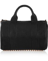Alexander Wang The Rocco Textured-Leather Tote - Lyst