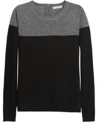 Dagmar - Avia Twotone Merino Wool Sweater - Lyst