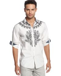 Inc International Concepts Long Sleeve Sparrow Shirt - Lyst
