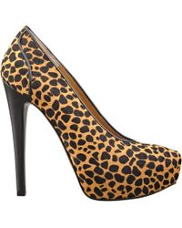 Nine West Aldusa Round Toe Pump - Lyst