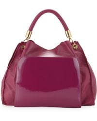Z Spoke by Zac Posen - Samantha Hobo Boysenberry - Lyst
