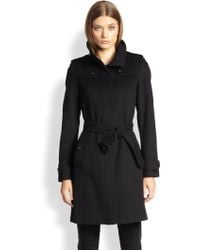 Burberry London Basingstoke Wool & Cashmere Coat - Lyst