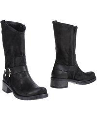 Emanuela Passeri Ankle Boots - Lyst