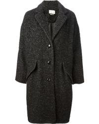 Etoile Isabel Marant Delphe Oversized Coat - Lyst