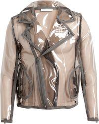 Wanda Nylon Unisex Johnny Transparent Biker Jacket - Lyst