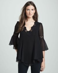 Free People Always in Love Lace-trim Top - Lyst