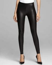 Guess Leggings Matte Faux Leather - Lyst