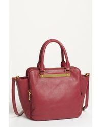 Marc By Marc Jacobs Goodbye Columbus Leather Satchel - Lyst
