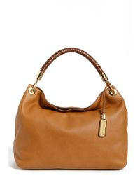 Michael Kors 'Large Skorpios' Leather Shoulder Bag - Lyst