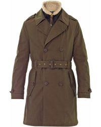 Burberry Brit - Wolverton Parka Coat - Lyst