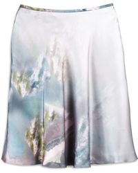 Cynthia Rowley White Circle Skirt - Lyst
