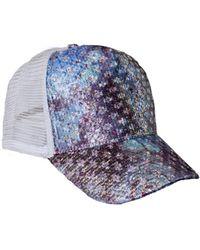 Cynthia Rowley - Brocade Trucker Hat - Lyst