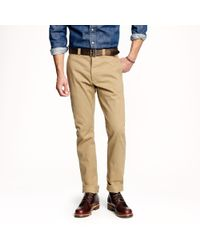 J.Crew Wallace & Barnes Japanese Selvedge Chino - Lyst