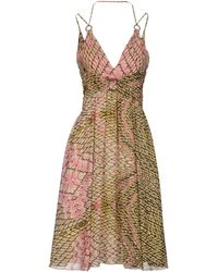Just Cavalli Kneelength Dress - Lyst
