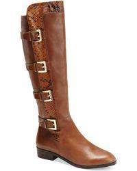 Michael Kors Tamara Tall Riding Boots - Lyst