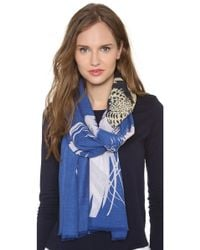 We Are Owls - In The Shadows Cashmere Scarf - Lyst