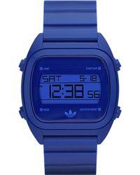 Adidas Digital Watch Blue - Lyst