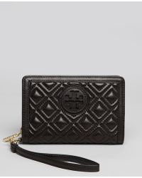 Tory Burch Iphone 5 Wristlet Marion - Lyst