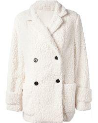 Gat Rimon - Twix Fleece Coat - Lyst