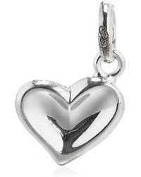 Links of London - Thumbprint Heart Charm - Lyst