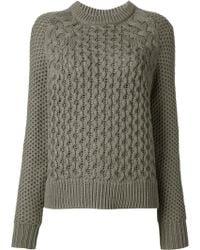 Acne Studios Cotton Ruth Air Sweater - Lyst