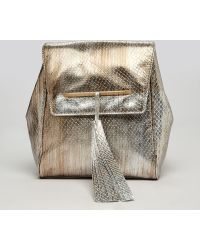 B Brian Atwood - Backpack Juliette Party Chain Strap - Lyst