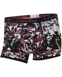 Calvin Klein Mob Print Underwear Trunk - Lyst
