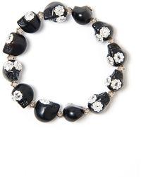 Shebee - The Greta Skull Bracelet - Lyst