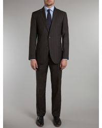 Tommy Hilfiger Kevin Brooks Shadow Check Suit - Lyst