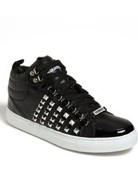 DSquared² Studded Sneaker - Lyst
