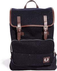Fred Perry Wool Backpack - Lyst