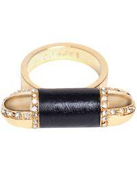 CC Skye Shelby Bullet Ring - Lyst