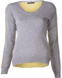 Tom Scott | Bicolor Sweater | Lyst