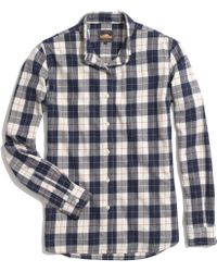 Madewell Penfield&Reg; Stokes Checked Flannel Shirt - Lyst