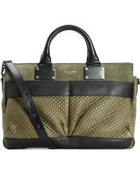 Rag & Bone Medium Pilot Studded Moss - Lyst