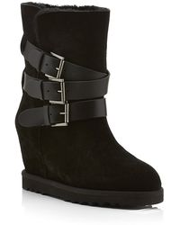 Ash - Yes Wedge Boots - Lyst