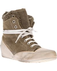 Candice Cooper Mars High Top Trainer - Lyst